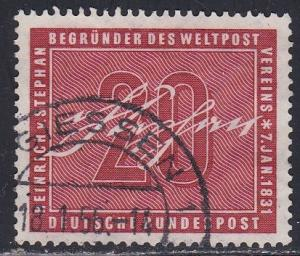 Germany # 738, Numeral & Signature, Used, Third Cat.