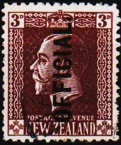 New Zealand. 1915 3d(Official) S.G.O99  Fine Used