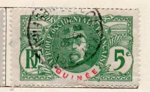 French Guinee 1906 Early Issue Fine Used 5c. 135953