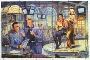 Batum 1997 Karaoke Theatre Montage (Elvis, Marilyn Monroe...
