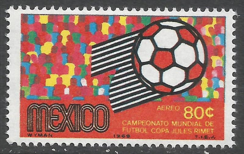 MEXICO C350 MNH WORLD CUP R398-3
