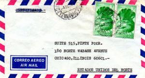 Fernando Poo 10P Great Blue Touraco (2) 1967 Santa Isabel, Fernando Poo Airma...