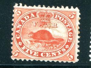 Canada #15 Unused  F-VF  - Lakeshore Philatelics