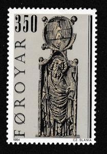 Faroe Is. Pews of Kirkjubour Church issue 1984 350 KR SG#92 SC#104