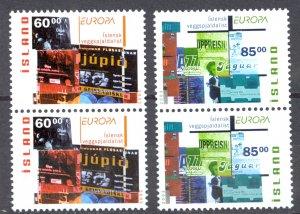 Iceland Sc# 993-994 MNH Pair 2003 Europa
