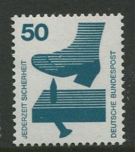 GERMANY. -Scott 1080 - Accident Prevention.-1971- MNH -Single 50pf Stamp