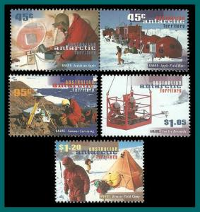AAT 1997 Research Expeditions, MNH L102-L106,SG117-SG121