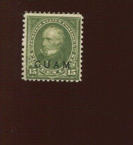 GUAM  10 Overprint Mint Stamp (Bx 524)