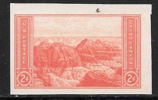 USA 757: 2c Grand Canyon, VF, NGAI, Mint