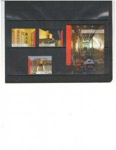 JORDAN: Sc.1818-21 /**FRIENDSHIP WITH JAPAN** /  Set & Sov Sheet - MNH