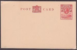 BASUTOLAND GV 1d postcard fine unused......................................35762