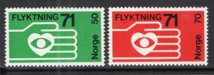 Norway 572-573 MNH VF