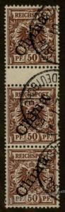 Germany 1901 China Mi 6II ZS Zwischensteg ZSD Gutter Pair 77945