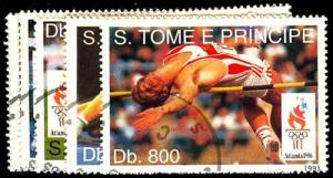 ST. THOMAS & PRINCE ISL. 1152-59  Used (ID # 48323)