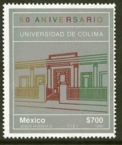 MEXICO 1661, University of Colima 50th Anniversary. MINT, NH. VF.