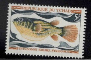 Chad TCHAD Scot 220 MNH** Fish stamp