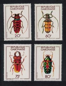 Gabon Beetles SG#651-654