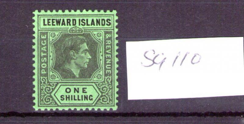 Leeward Islands 1938 1/- SG 110  MNH? fresh Colours