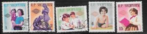 Albania  #823-827     (U&M) CV $6.10