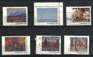 Can #955,957-58,963-64,966   used VF 1982 PD