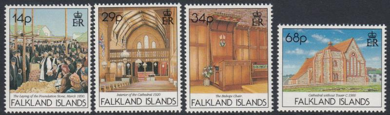 Falkland Islands - 1992 Centenary of Christchurch Cathedral (MNH)