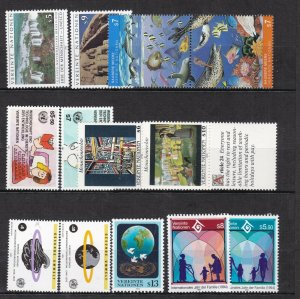 UNITED NATIONS ( Vienna ) ^^^^OLDER  MNH  collection $18.70@ lar 2156un