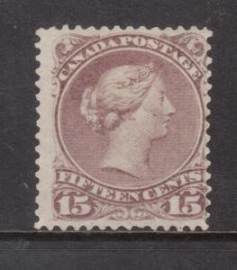 Canada #29b Mint Fine Artfully Regummed **With Certificate**