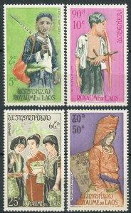 Laos #100; C43-C45 MNH