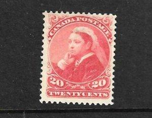 CANADA 1888-93  20c   QV  MNG  Sc 46  SG 115