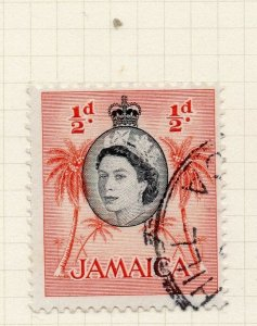 Jamaica 1956 Early Issue Fine Used 1/2d. 283886
