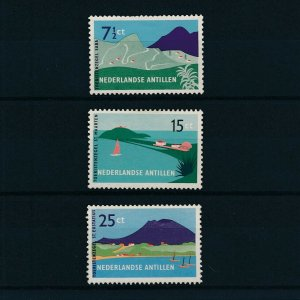 [NA262] Netherlands Antilles 1957 Sailing ships  MNH