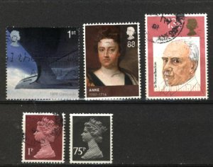 Great Britain   (5)   used  PD