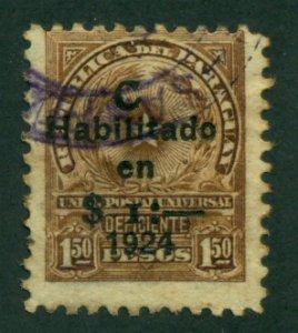 Paraguay 1924 #L5 U SCV (2018) = $0.50