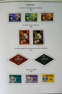 Malaysia & States Loaded 1800s to 2000 Stamp Collection