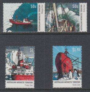 Australian Antarctic Territory L120-L123 MNH VF