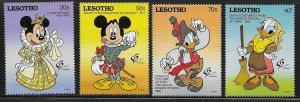 Lesotho 897-901 Disney Grenada '92 MNH c.v. $14.85