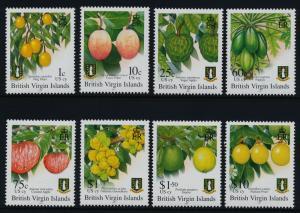 Virgin Islands 1042-9 MNH Fruit, Coco Plum, Papaya, Guava, Passion fruit
