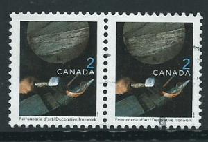 Canada  SG 1888 set tenant pair  Very Fine  Used