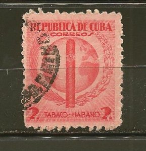 Cuba 357 Cigar and Globe Used