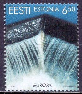 Estonia. 2001. 399. Europe. MNH.