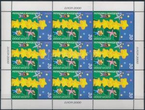 Makedonien stamp Europa CEPT minisheet MNH 2000 Mi 196 WS175262