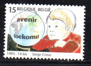 Belgium Sc 1511 1993 Children stamp mint NH