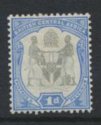 Nyasaland (British Central Africa) BCA SG 43 Mint Hinged