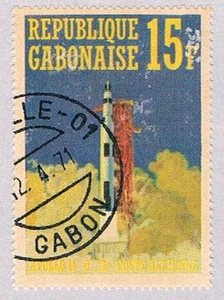 Gabon C108 Used Space 1971 (BP3581)