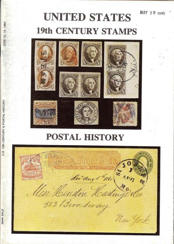 United States 19th Century Stamps including the Estate of...