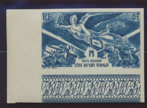 Somali Coast (Djibouti) Stamp Scott #C8 Proof, Mint Never Hinged