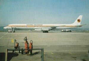 7973 Aviation Postcard   SEYCHELLES INTERNATIONAL D.C. 8  Airlines