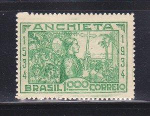 Brazil 397 MH Jose De Anchieta, Missionary