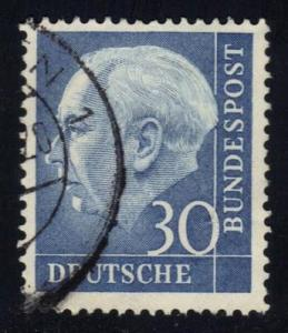 Germany #712 Theodor Heuss, used (4.50)