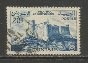 Tunisia  #281  Used  (1956)